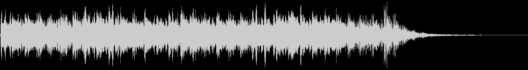 強拍にベル、16分音符をグロッケンを使…の未再生の波形