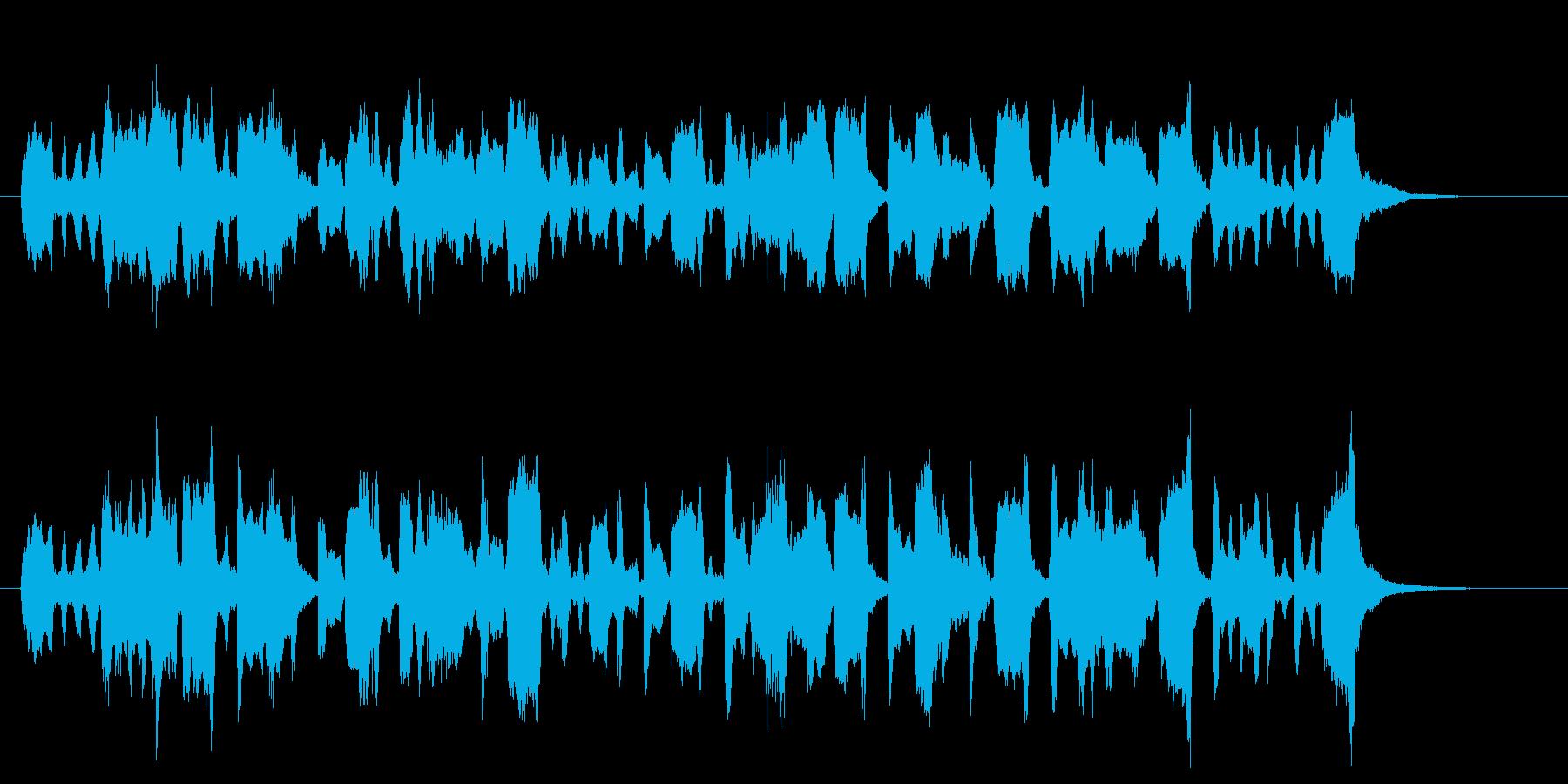 幻想的なバイオリンサウンドの再生済みの波形