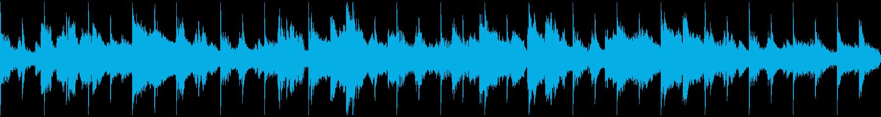 30秒ループ 臨場感あるサックスジャズ の再生済みの波形