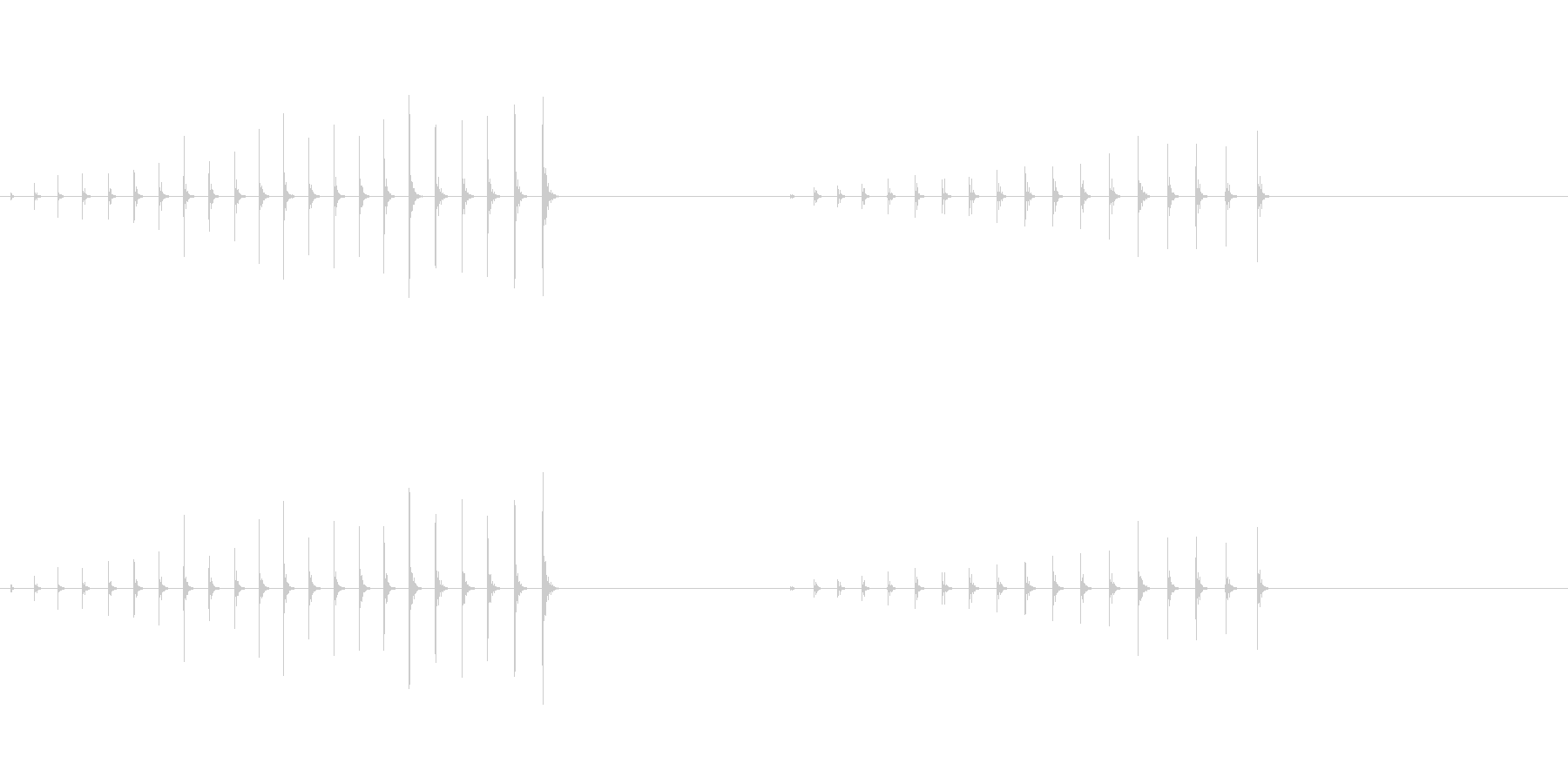 ハンマーネイル、4; DIGIFF...の未再生の波形