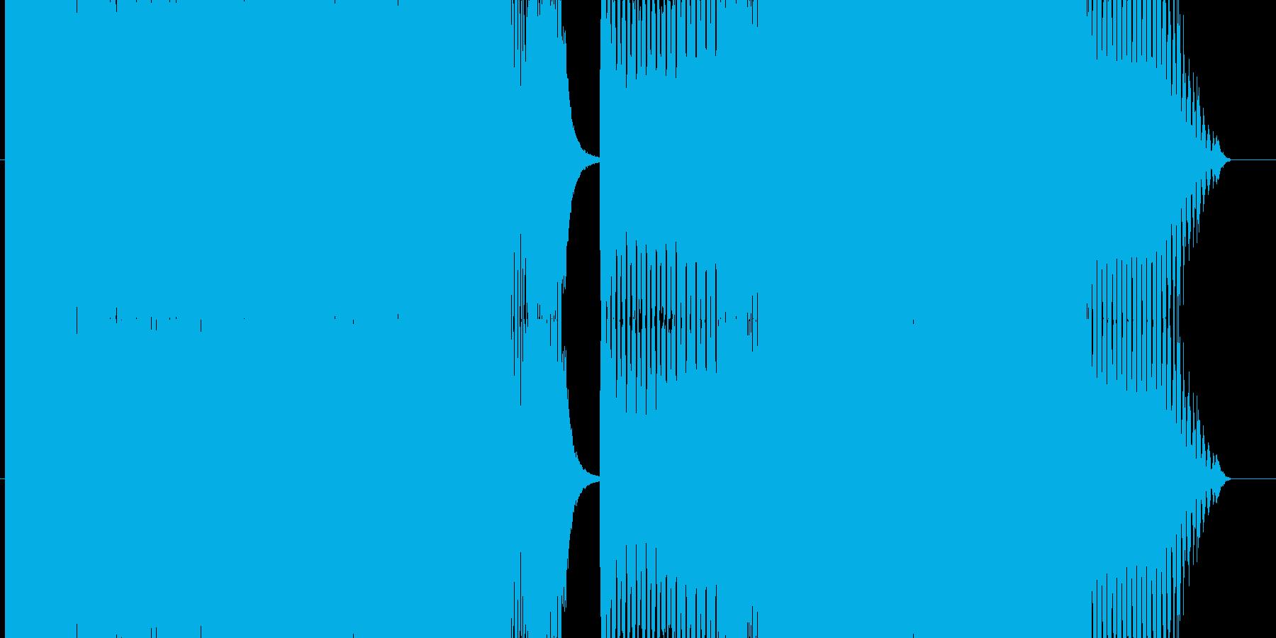 ノリのよいハイテンポトランスの再生済みの波形