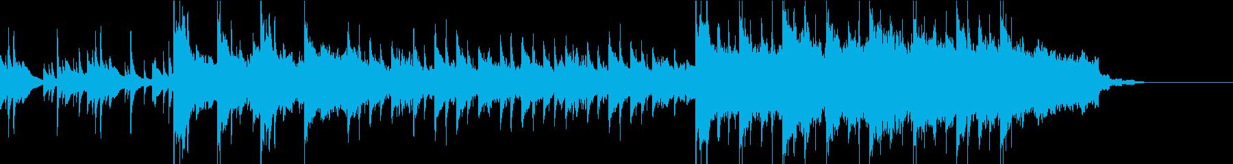 企業VPや映像に壮大なバイオリンBGMの再生済みの波形