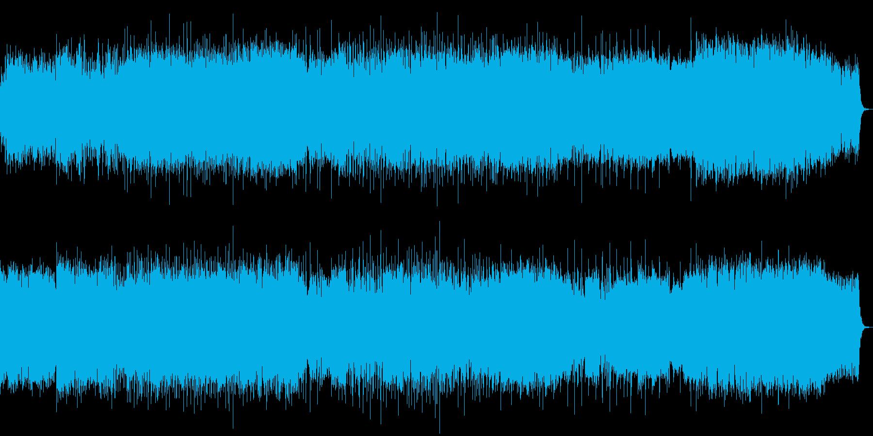 オーケストラとクワイアとダブステdubの再生済みの波形