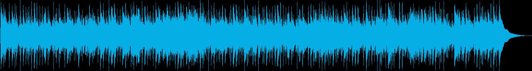 旅番組などのBGMにシンプルなフォーク調の再生済みの波形