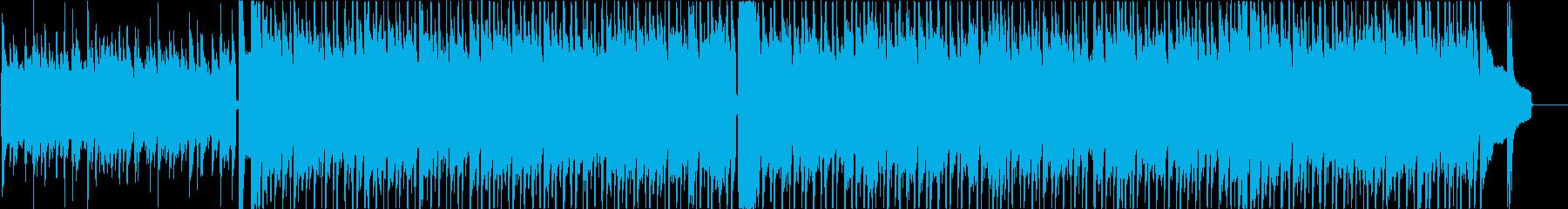 夏祭りをイメージした曲の再生済みの波形