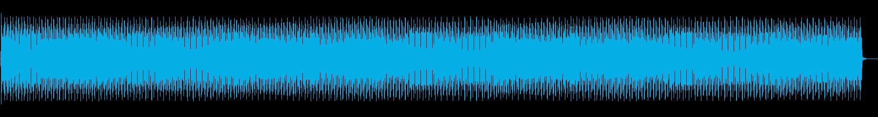自動アラーム音アラームの再生済みの波形