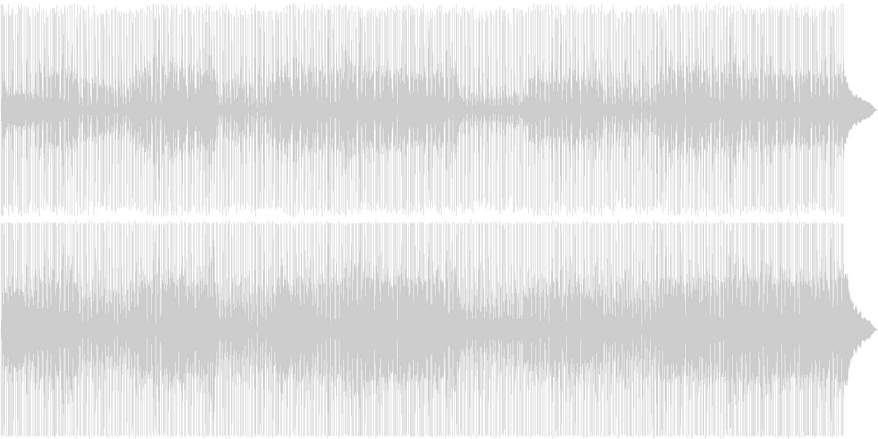 王道!映像に使えるリズミカル明るめロックの未再生の波形