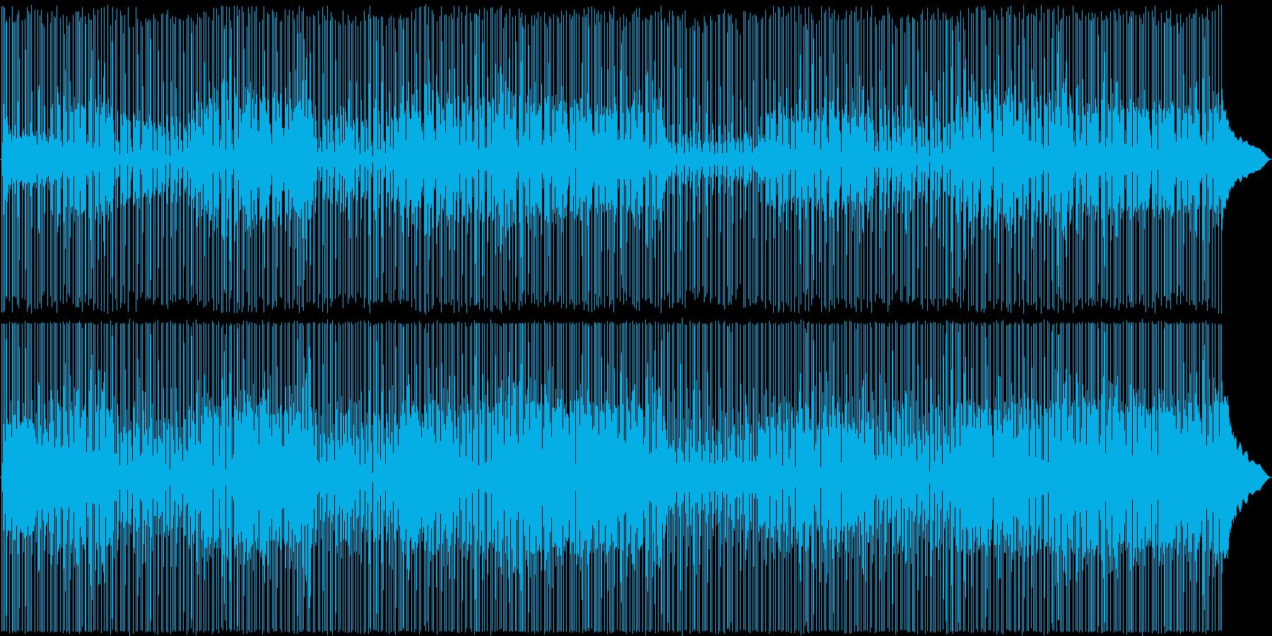 王道!映像に使えるリズミカル明るめロックの再生済みの波形