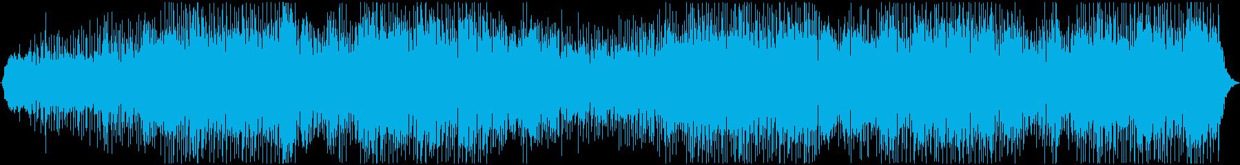 肯定的な発表のための電子脈動アンダ...の再生済みの波形