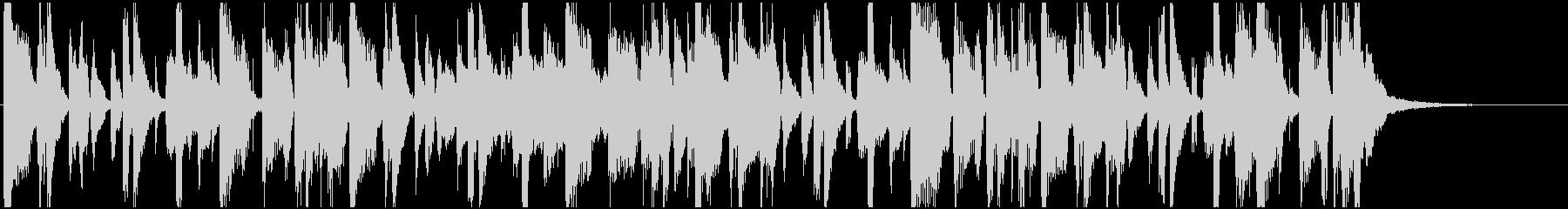 カッティングギター ファンキージングル の未再生の波形