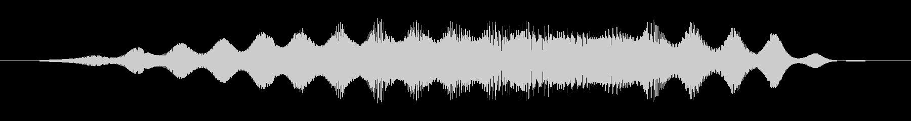 レトロバウンススイープ、高速、スペ...の未再生の波形