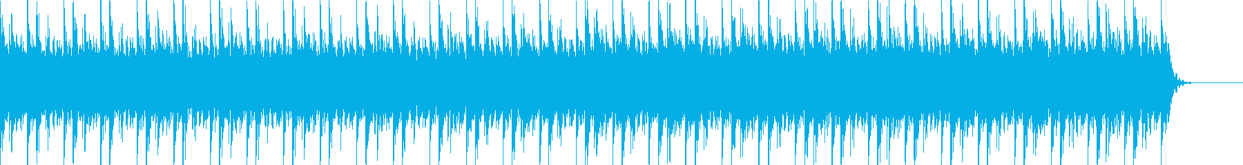 実用的な緊迫感のあるシンセBGM6の再生済みの波形
