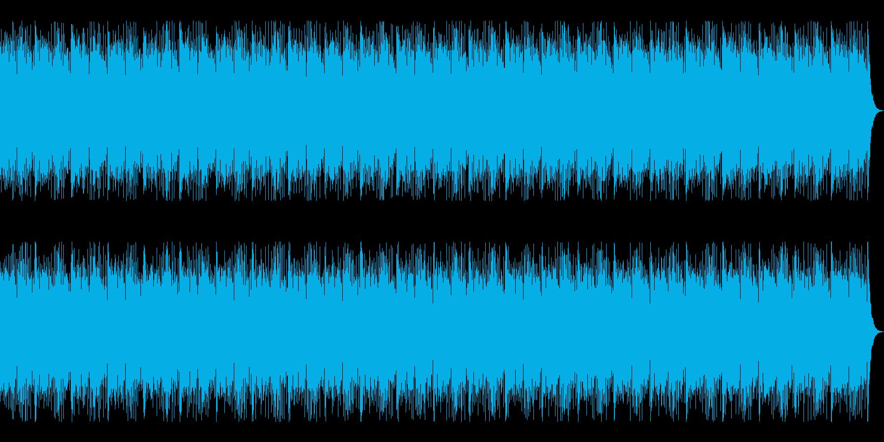 和ロックをイメージした尺八がメロのBGMの再生済みの波形
