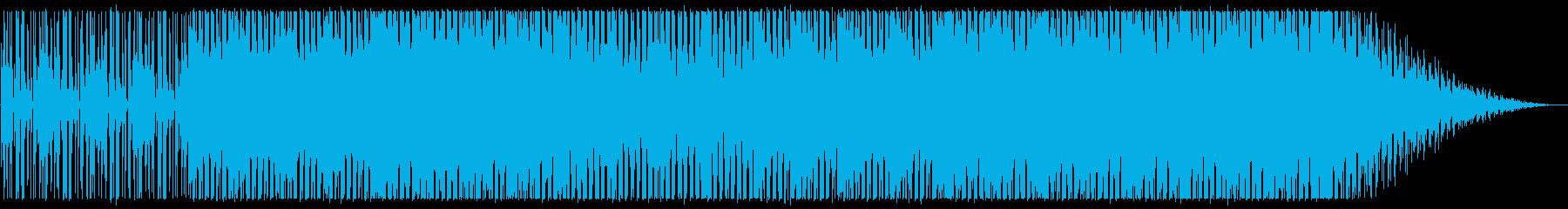 クール/都会/ハウス_No442の再生済みの波形
