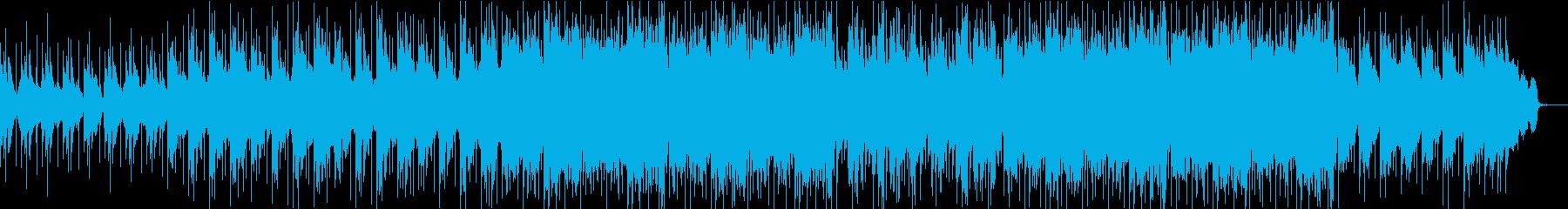 温かくソウルフルな雰囲気のロックバラードの再生済みの波形