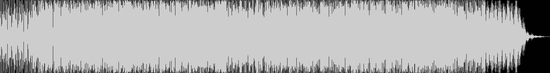 ほのぼのした雰囲気のポップなボサノバの未再生の波形
