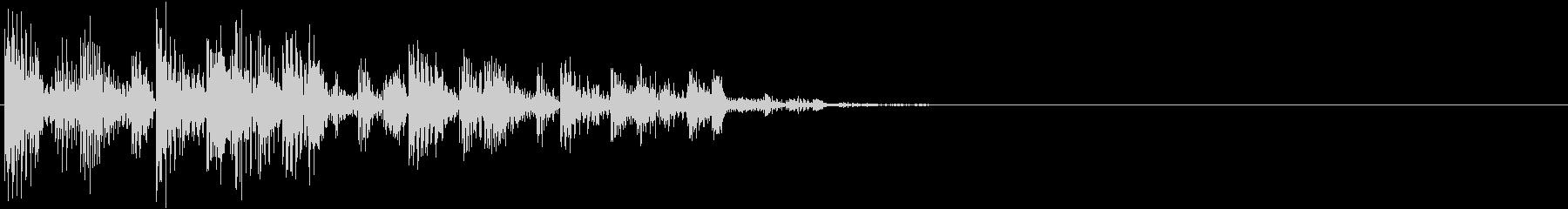 ブンブンチャチャワワン…(アイキャッチ)の未再生の波形