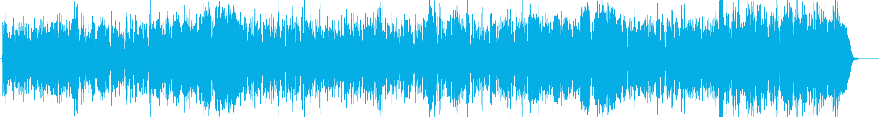 Modern BGM such as flute's reproduced waveform