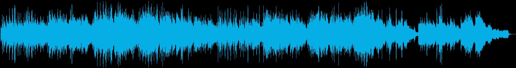 癒しのピアノカルテット〜茶摘み〜の再生済みの波形