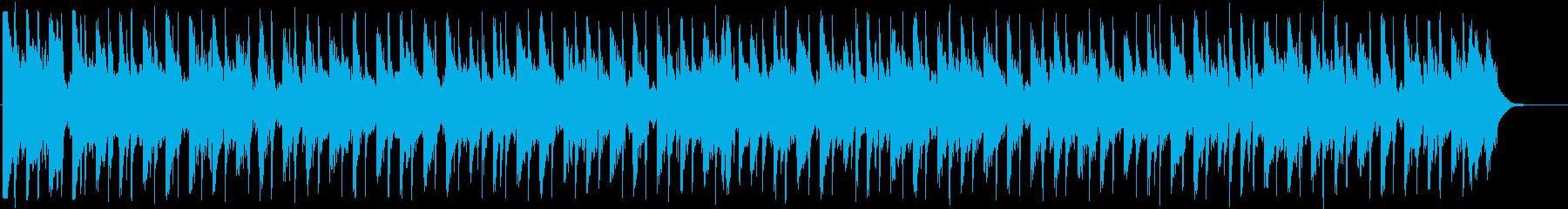 きらびやかなファンクディスコ_612_5の再生済みの波形