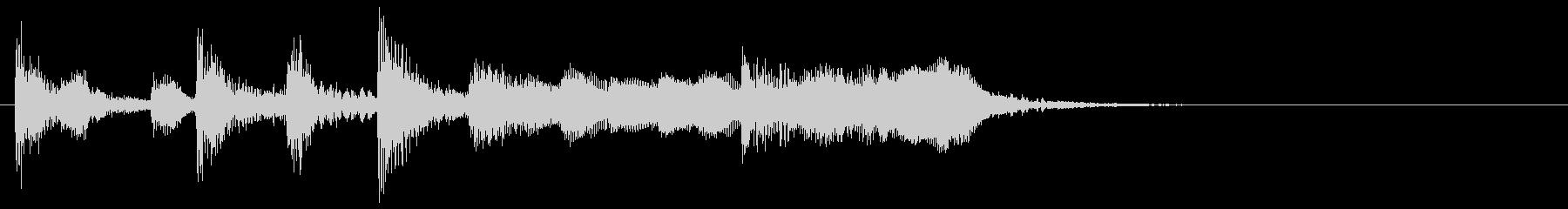演歌な ジングル アイキャッチ 4の未再生の波形