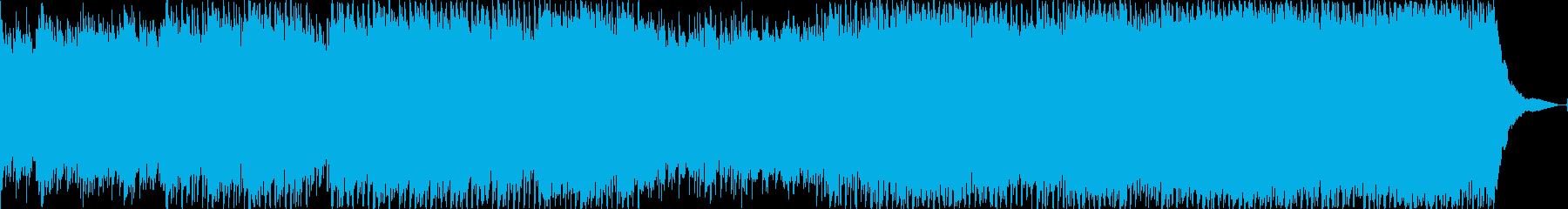 インディー 説明的 繰り返しの ク...の再生済みの波形
