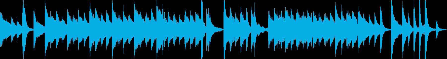 【悲壮感】30秒ピアノソロ【ループ】の再生済みの波形