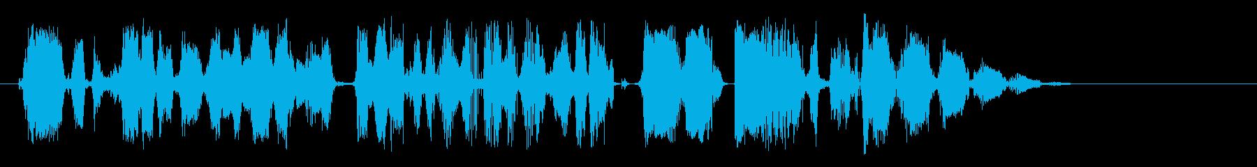 ダッククワック、ラピッド&アプセット。の再生済みの波形