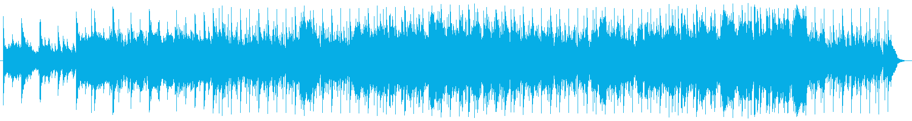 北欧の森の中をイメージしたBGMの再生済みの波形