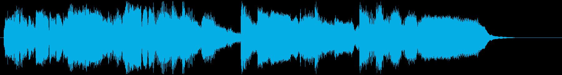 幸せな雰囲気の15秒CM用ジャズバラードの再生済みの波形