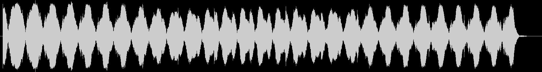 暗く不安になる音楽(ミステリー、ホラー)の未再生の波形