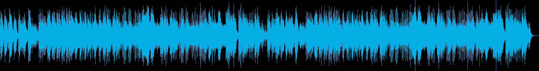 静かな切ない感動バラードベルソングの再生済みの波形