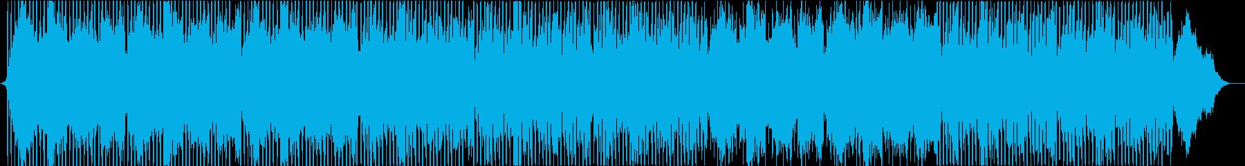背景、アンビエントの再生済みの波形