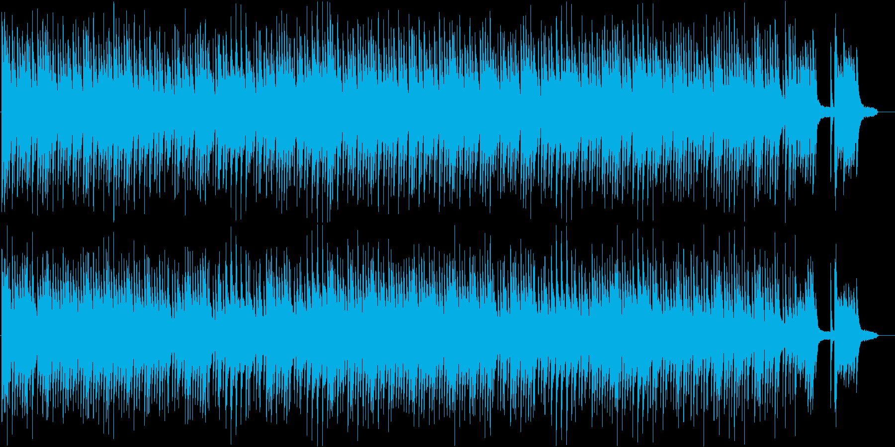 懐かしさと和を感じるピアノソロBGMの再生済みの波形