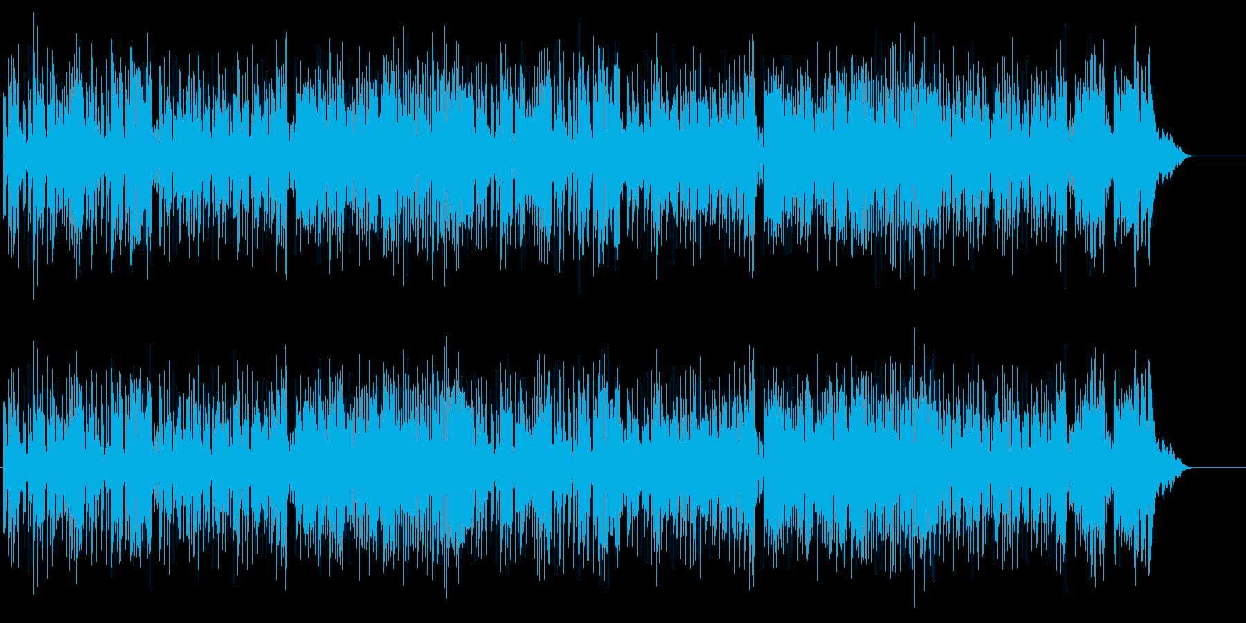 イージーリスニングのギター・フュージョンの再生済みの波形