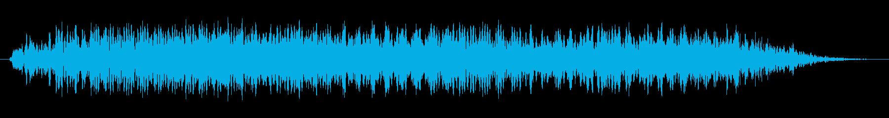 悪魔のうなり声3の再生済みの波形