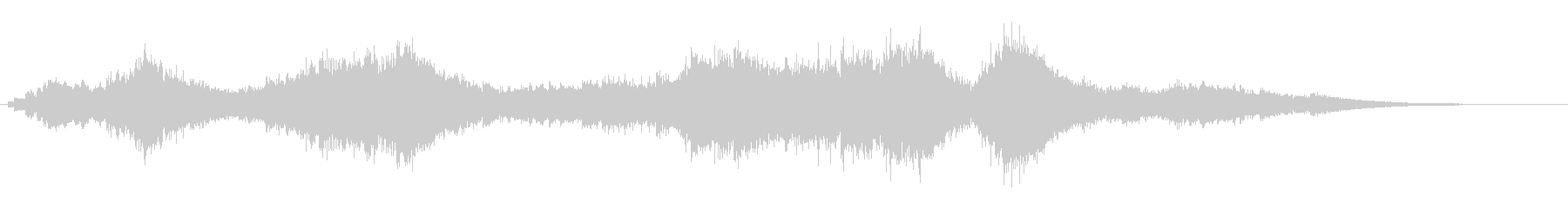 『ドロドロドロ・・・』和製ドラの連打音の未再生の波形