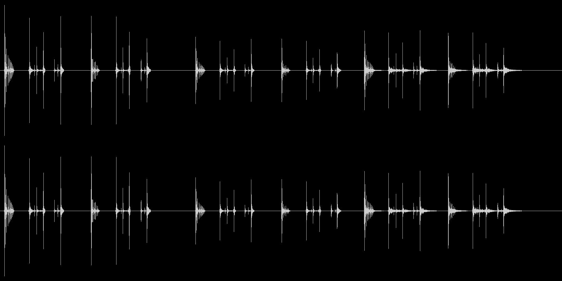 ハッチヒップ-2バージョンX 3ス...の未再生の波形