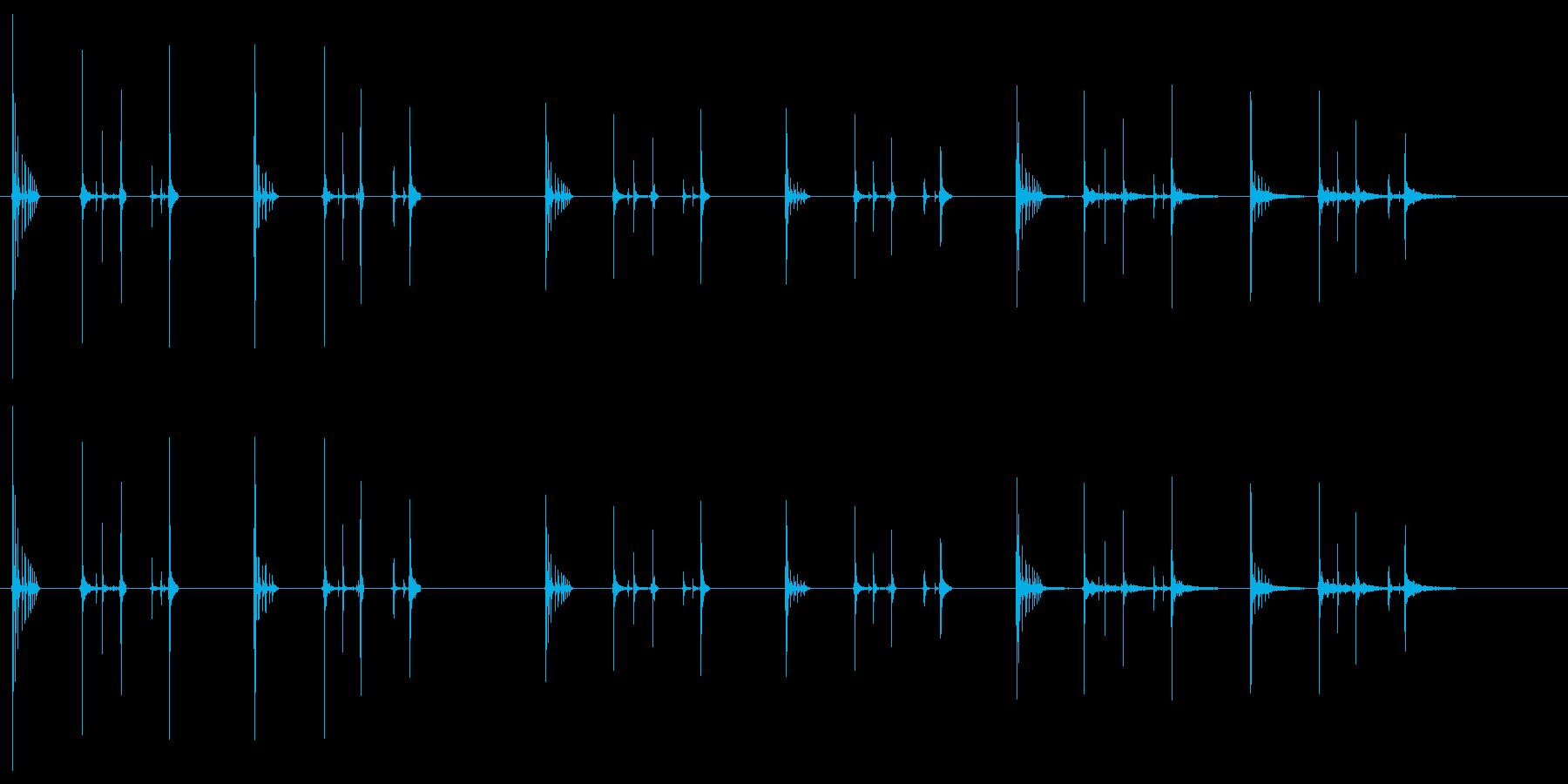 ハッチヒップ-2バージョンX 3ス...の再生済みの波形