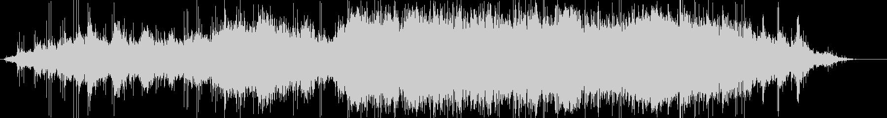 エレクトロニックミュージックの未再生の波形