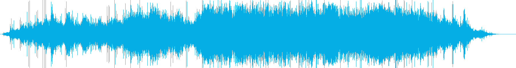 エレクトロニックミュージックの再生済みの波形