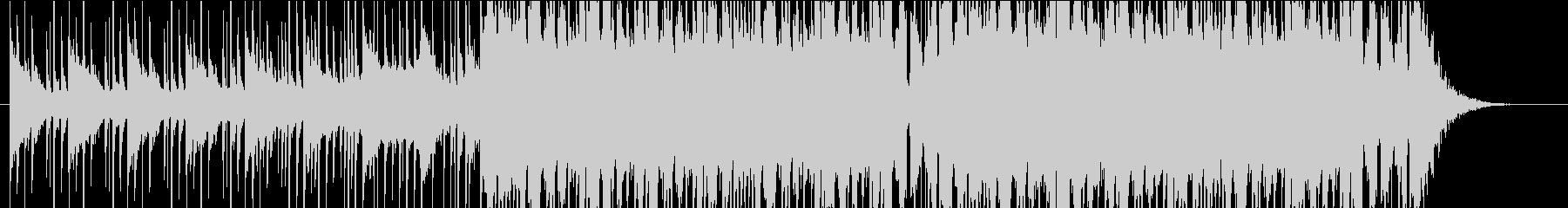 爽やかなトロピカルハウスの未再生の波形