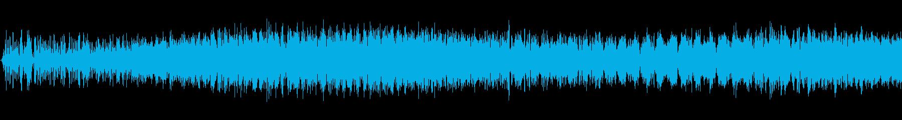レーザー加熱の再生済みの波形