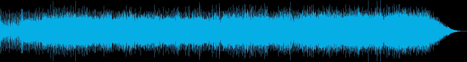 軽快でノリの良いブルース調ハードロックの再生済みの波形
