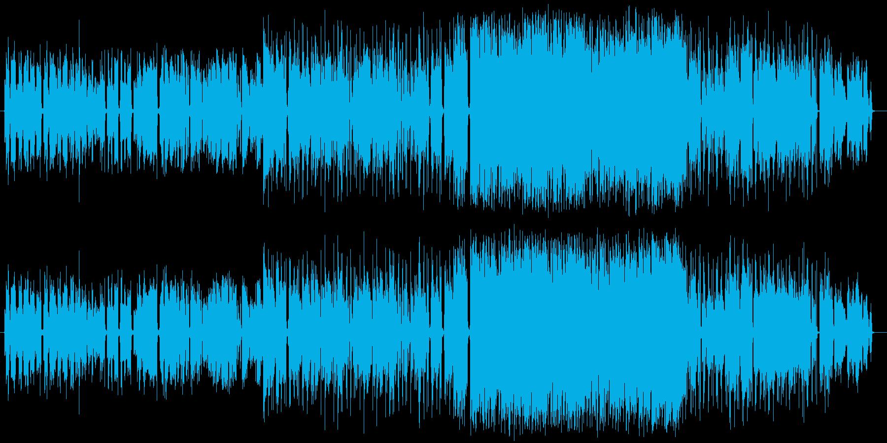 アコギ&ロック~ヨルシカ風~の再生済みの波形