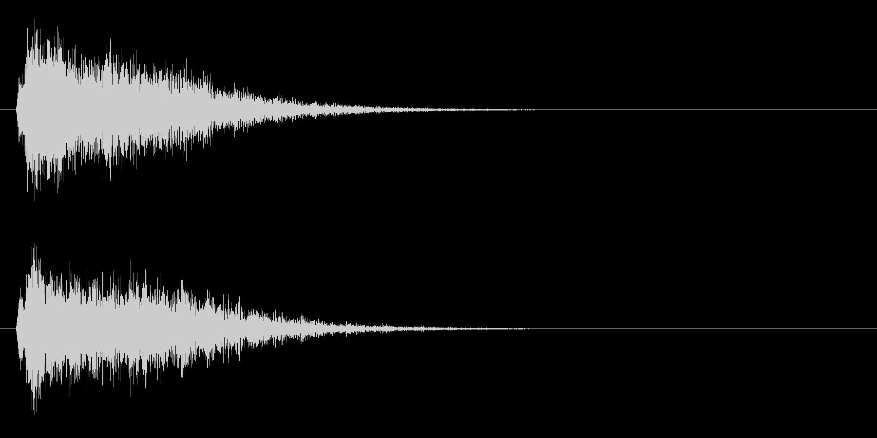サスペンスピアノ音_10-3の未再生の波形