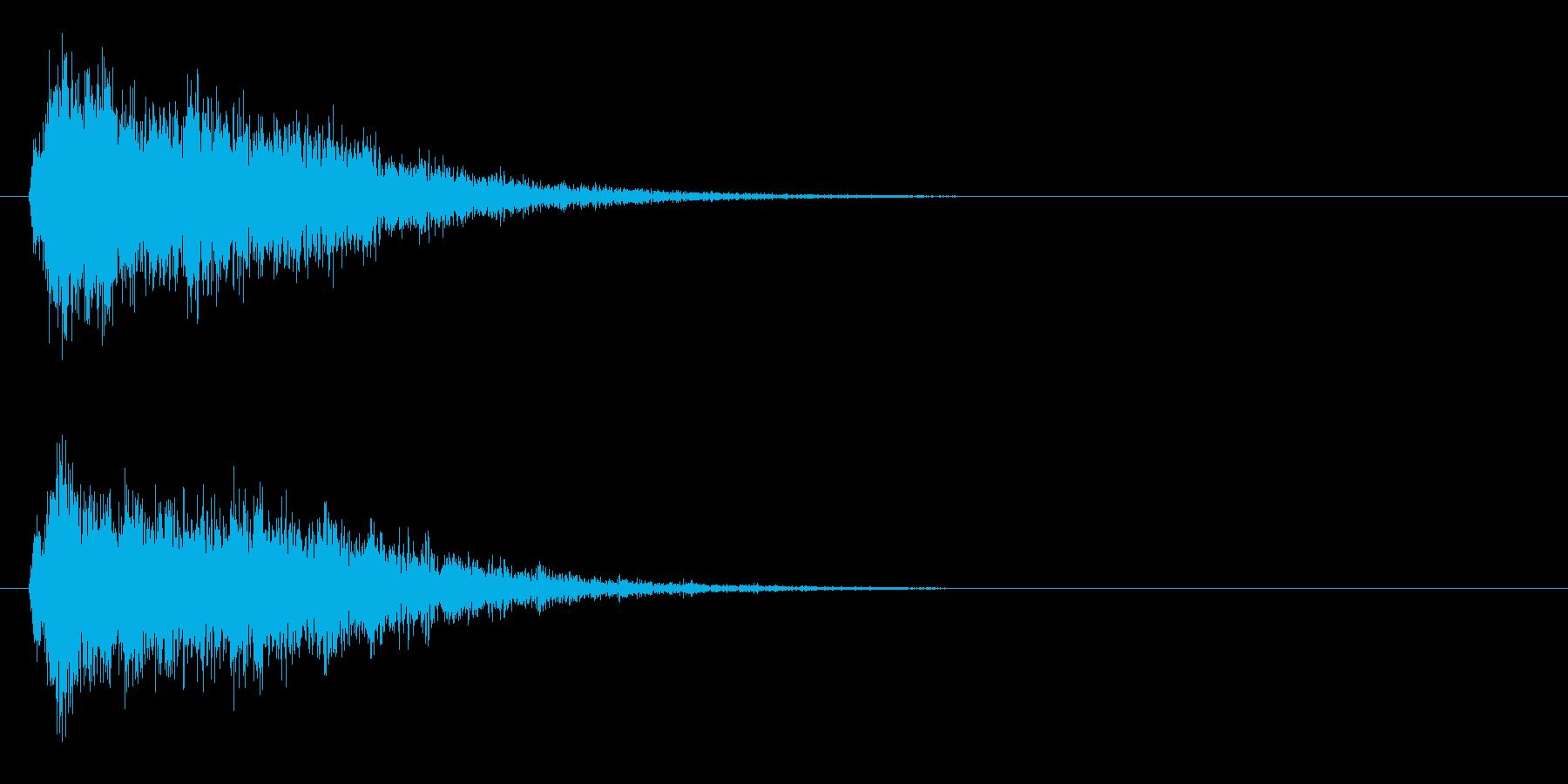 サスペンスピアノ音_10-3の再生済みの波形