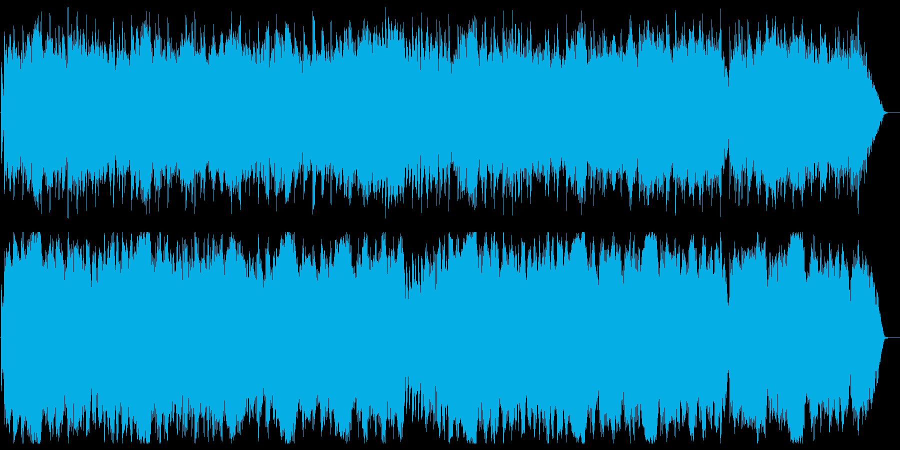 愛の夢(リスト)の再生済みの波形