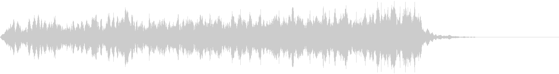 CINEMATIC RISER_18の未再生の波形
