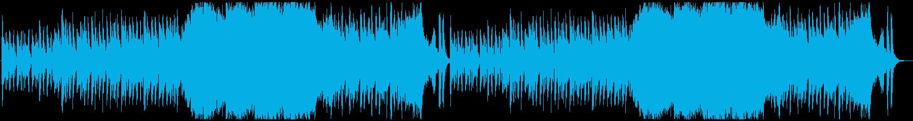 ハロウィン・いたずらコミカル系小編成オケの再生済みの波形